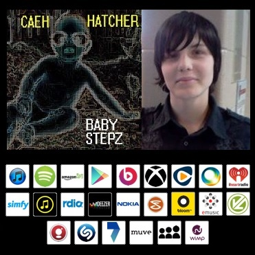 Caeh Hatcher with Baby Stepz album art
