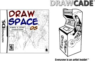 Drawspace & Drawcade Concept & Promo Art